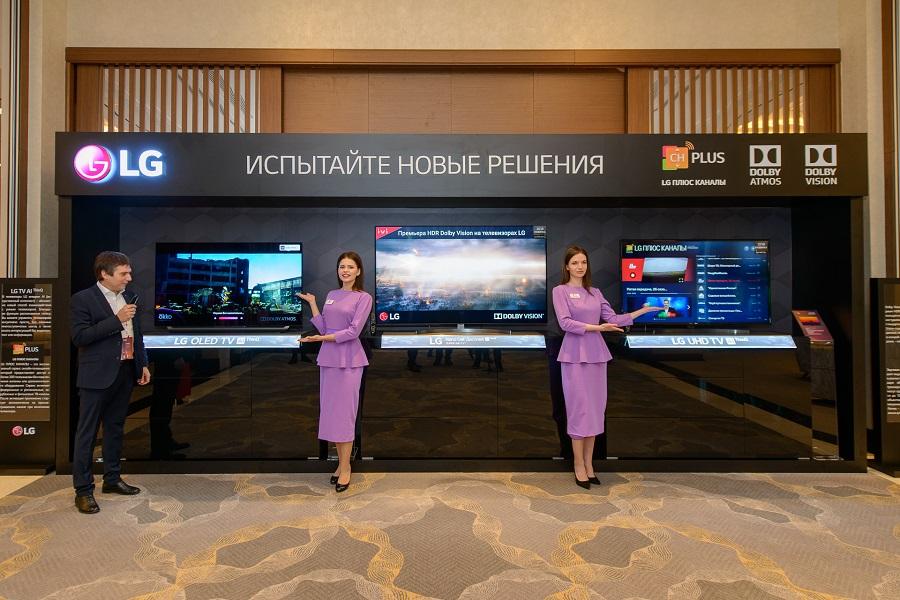 Телевизоры LG с встроенной функцией на основе искусственного интеллекта