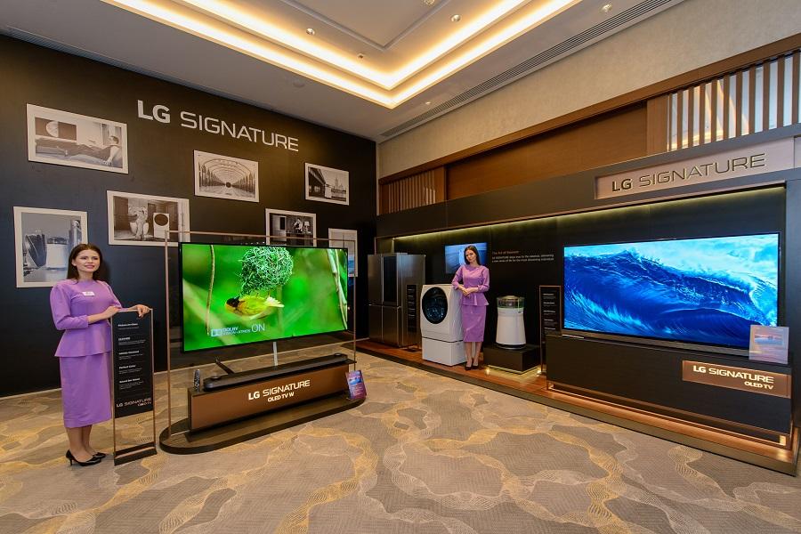 Премиальная линейка телевизоров LG SIGNATURE