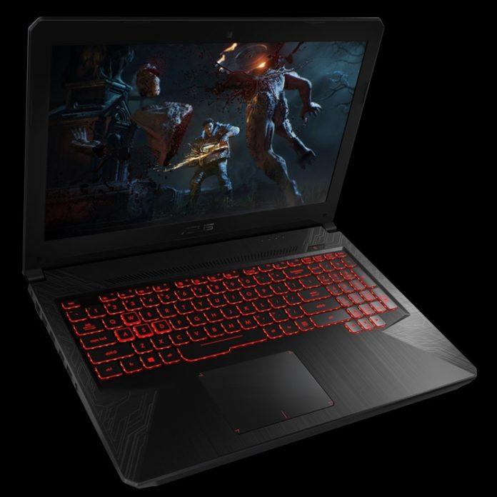 ASUS представила бюджетный игровой ноутбук TUF Gaming FX504