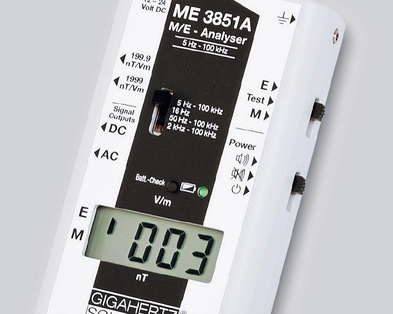 Анализатор ME 3851A измеряет низкочастотные переменные электрические и магнитные поля