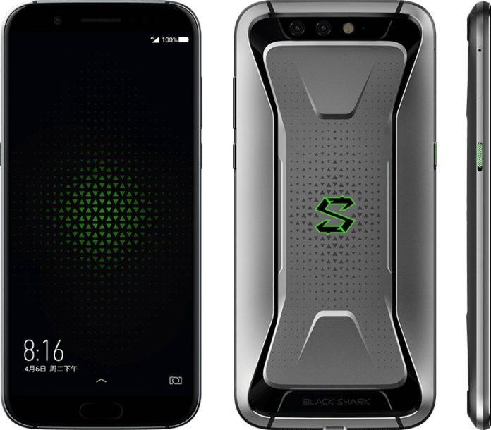 Xiaomi представила свой первый игровой смартфон Black Shark