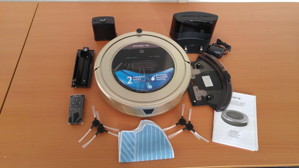 Робот-пылесос Polaris PVCR 0920WV: комплект поставки