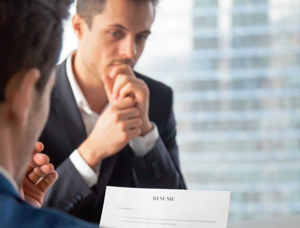 Возможно, в будущем вы избежите стресса во время собеседования, если его будет проводить программа