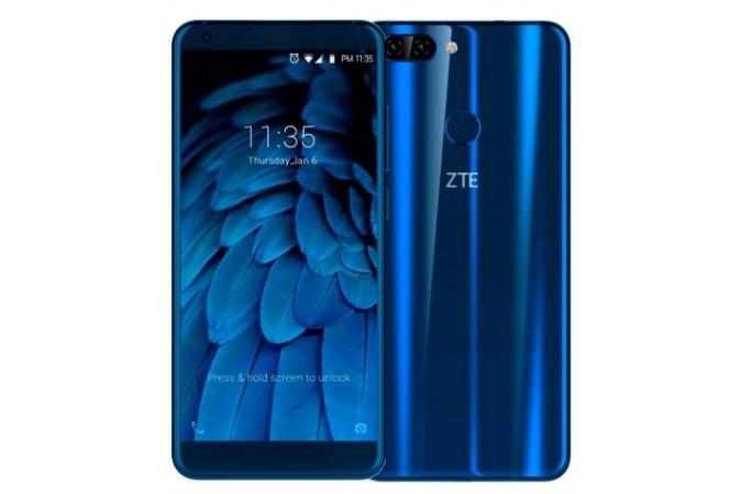 ВРФ стартовали продажи нового телефона ZTE Blade V9
