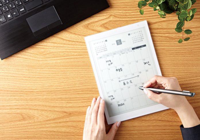 Sony представила E Ink-планшет со стилусом Digital Paper DPT-CP1