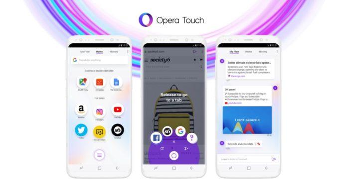 Opera представила мобильный браузер, которым можно управлять одной рукой