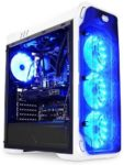 LC-Power 988W Blue Typhoon Gaming mit Seitenfenster