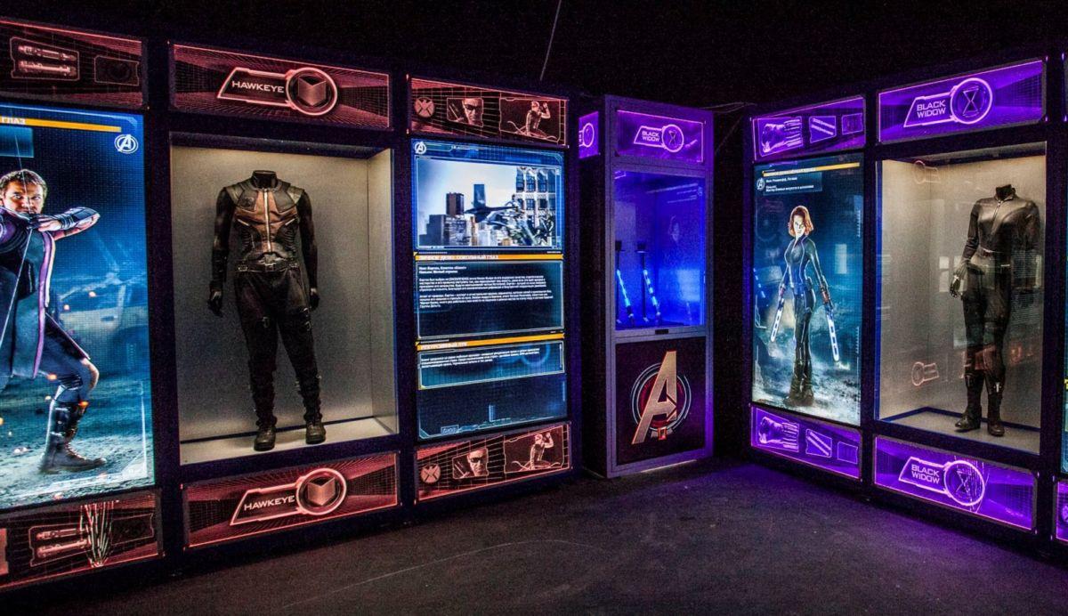 Стать супергероем: интерактивная выставка MARVEL