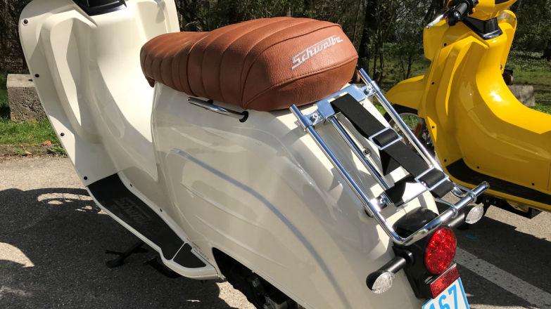 Вместо багажника под сиденьем для перевозки сумки вы сможете использовать только «велосипедный» багажник
