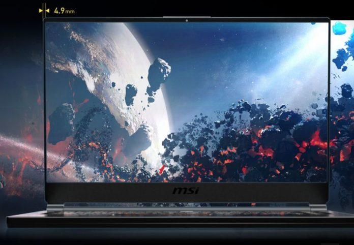 MSI представила тонкий, стильный и мощный игровой ноутбук GS65
