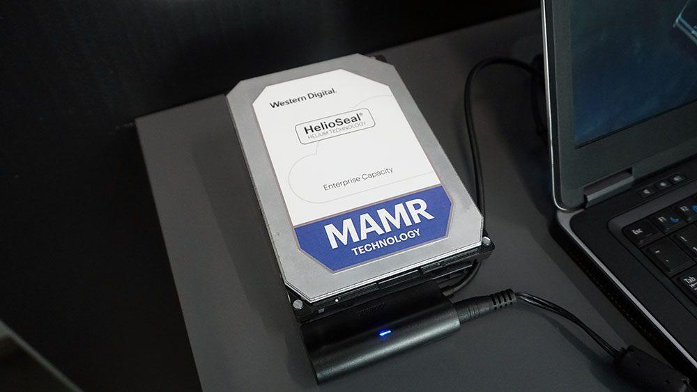 MAMR: Новый подход к записи данных