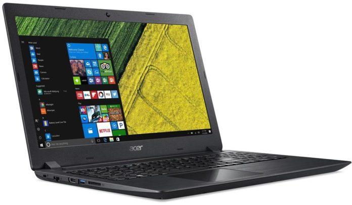Обзор бюджетного ноутбука Acer Aspire 3 A315-31-P3ZM: много памяти, но темный экран