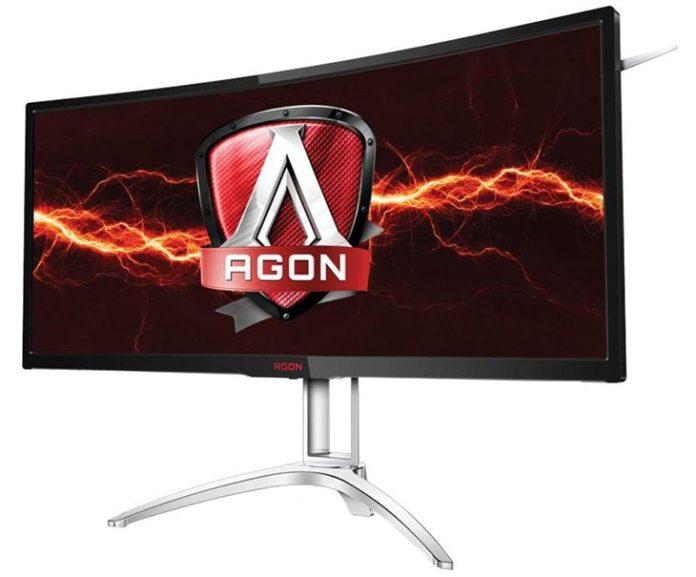 AOC представила большой 35-дюймовый изогнутый монитор для геймеров