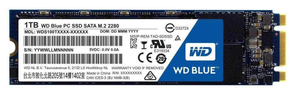 Обзор и тестирование SSD WD Blue WDS100T1B0B