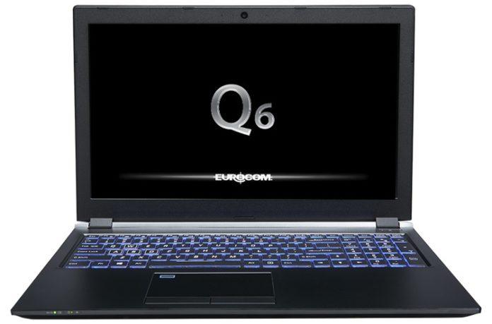 Eurocom Q6 — легкий, но мощный игровой ноутбук на платформе Intel Coffee Lake-H