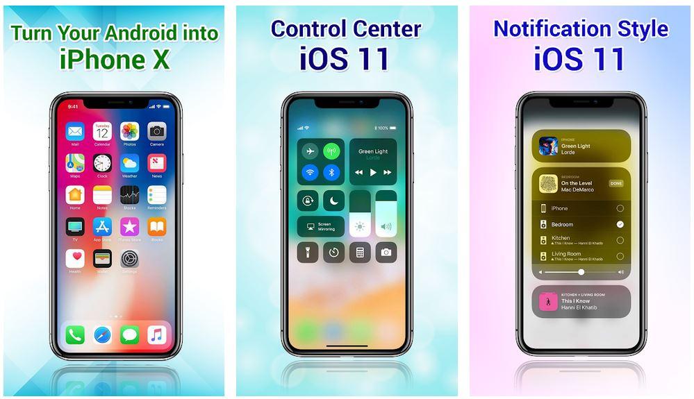Дизайн iOS для Android с помощью iLauncher