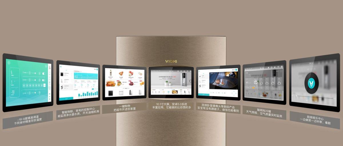 Viomi Smart Refrigerator iLive Voice Edition