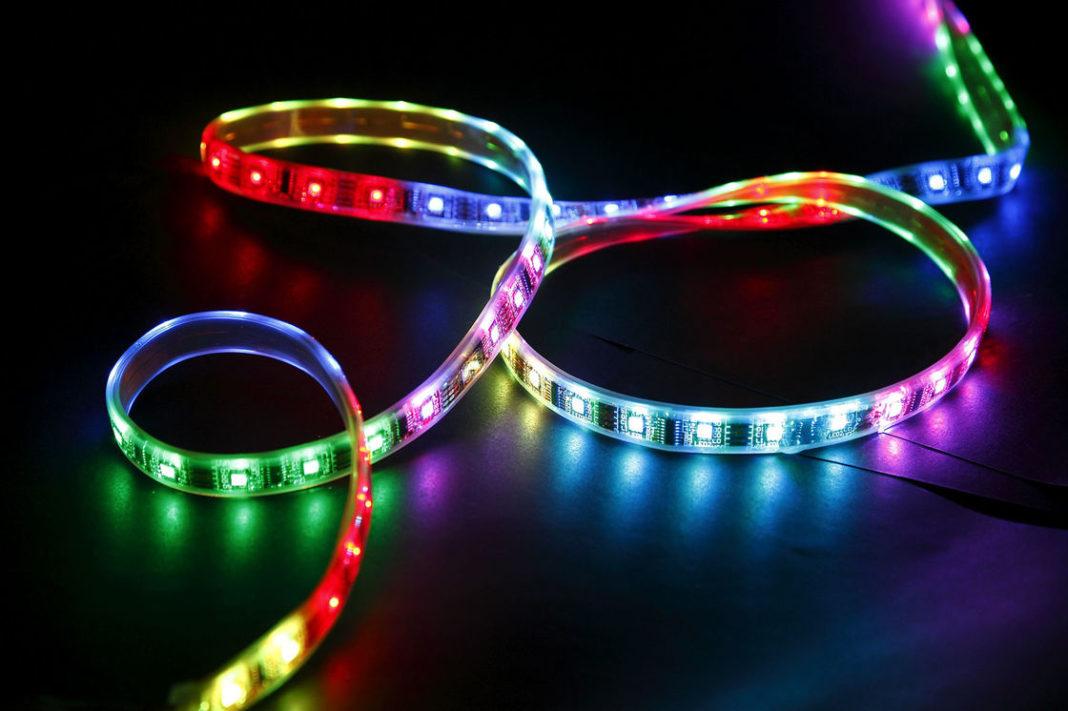 Огонь: соединяем светодиодные ленты