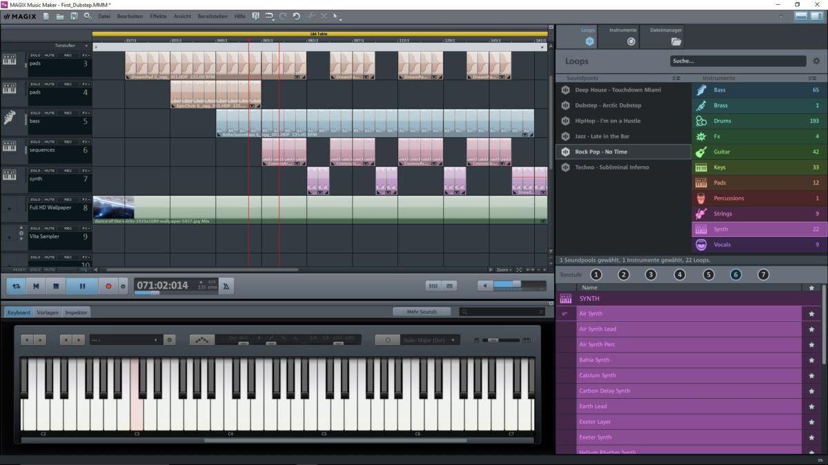 Создаем музыку на ПК с помощью Magix