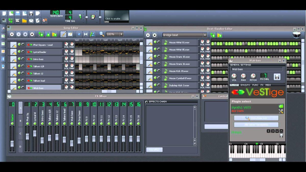 Создавать музыку с LMMS
