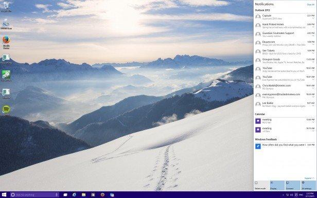 Уведомления в Windows 10