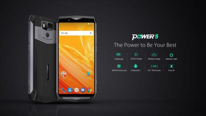 Ulefone Power 5 работает до 7 дней, а подзаряжается всего за 2,5 часа