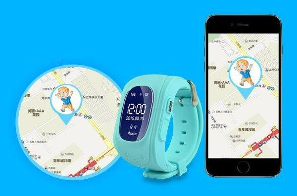 Часы с GPS и смартфон