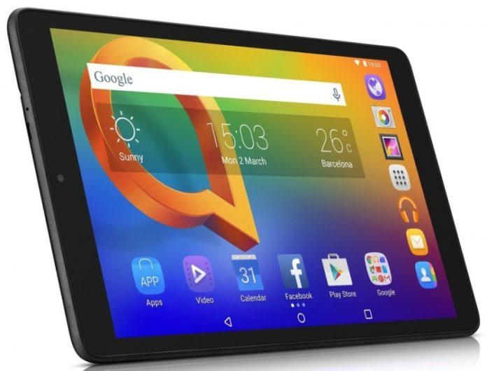Alcatel выпустила бюджетный 10-дюймовый планшет Alcatel A3 (2018)