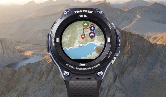 Casio представила защищённые умные часы для путешественников