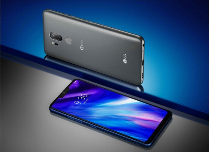 Названа российская цена флагмана LG G7 ThinQ