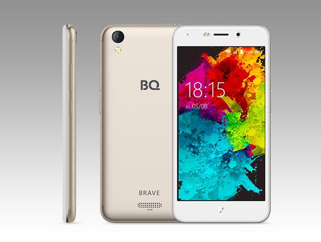 Храбрый гаджет: BQ представил ударопрочный смартфон BQ-5008L Brave