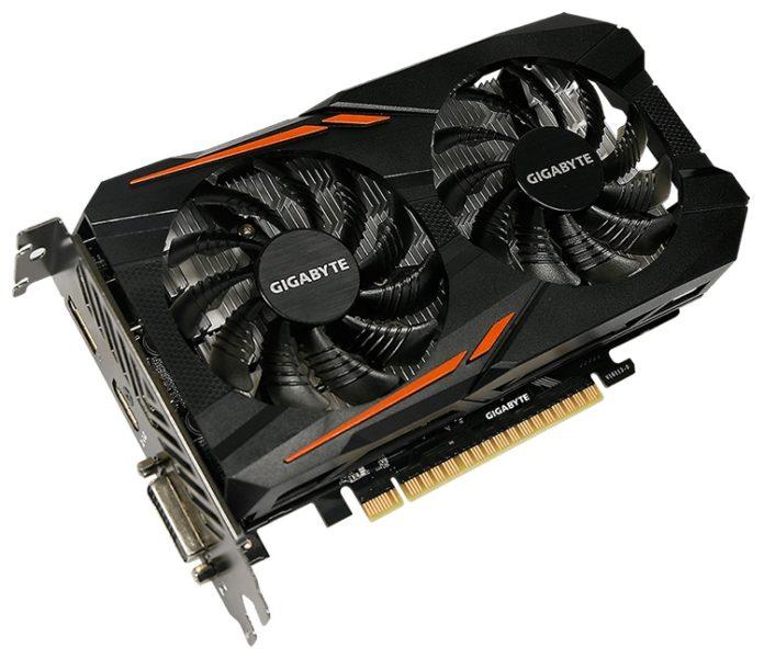 Gigabyte анонсировала видеокарту GeForce GTX 1050 3GB