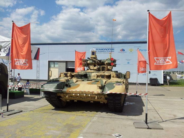 Российские военные показали «Терминатора», готового к ядерной войне