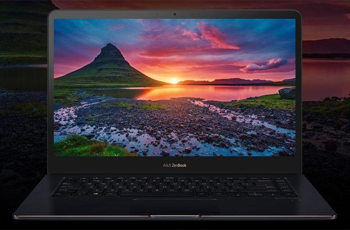 ASUS ZenBook Pro 15 получил мощный процессор Core i9
