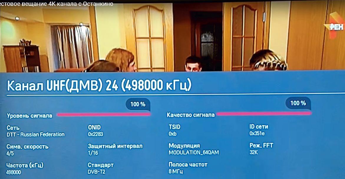 Немногие знают, что РТРС уже продолжительное время осуществляет тестовое вещание канала в формате Ultra HD