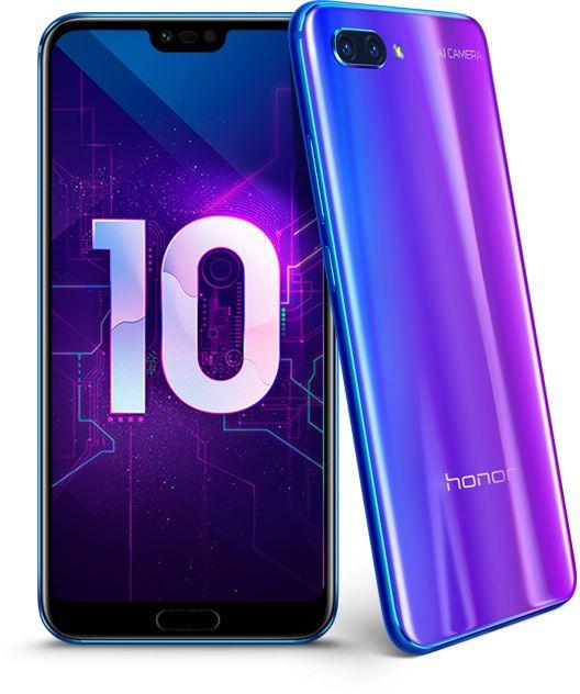 Названы российские цены доступного флагмана Huawei Honor 10