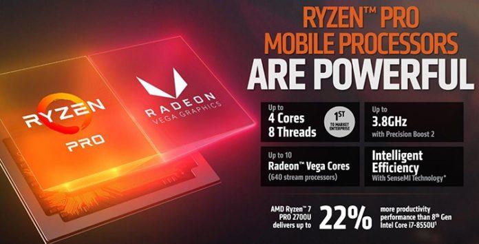 AMD представила новые гибридные процессоры Ryzen PRO