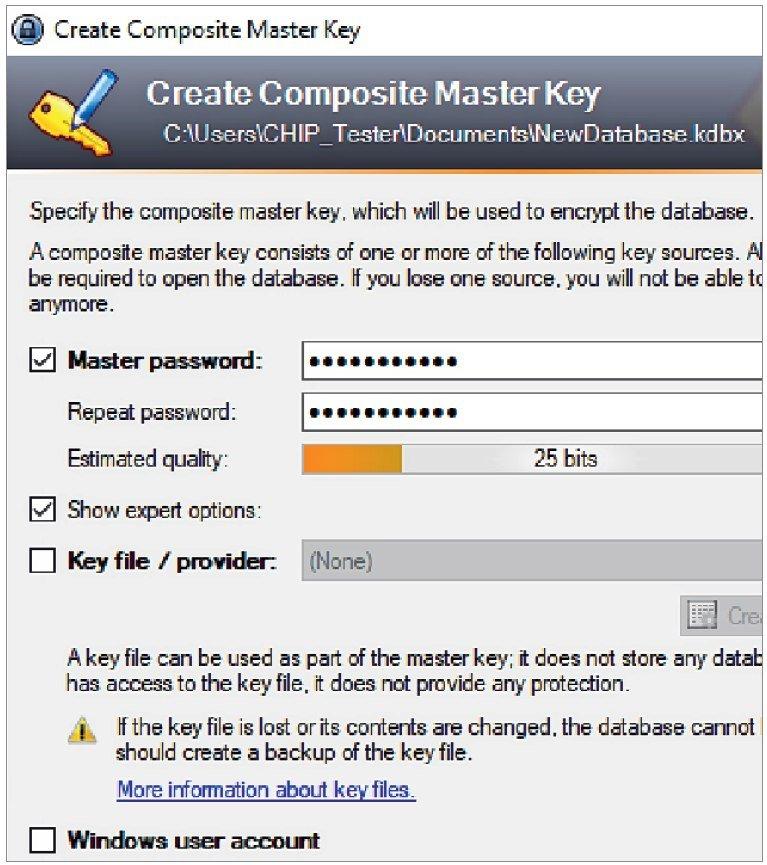 Пользователи KeePass должны сами заботиться о транспортировке базы данных с паролями (pwbase.hdbx). Однако в таком случае контроль всегда останется за вами