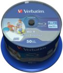 Verbatim BD-R 25GB 50er Spindel (6x) wide printable