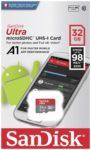 SanDisk Ultra microSDHC SDSQUAR-032G-GN6MA 32GB