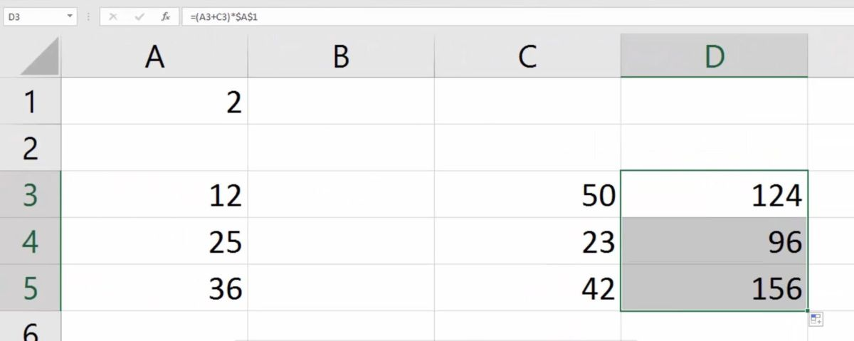 Как в Excel использовать абсолютную ссылку