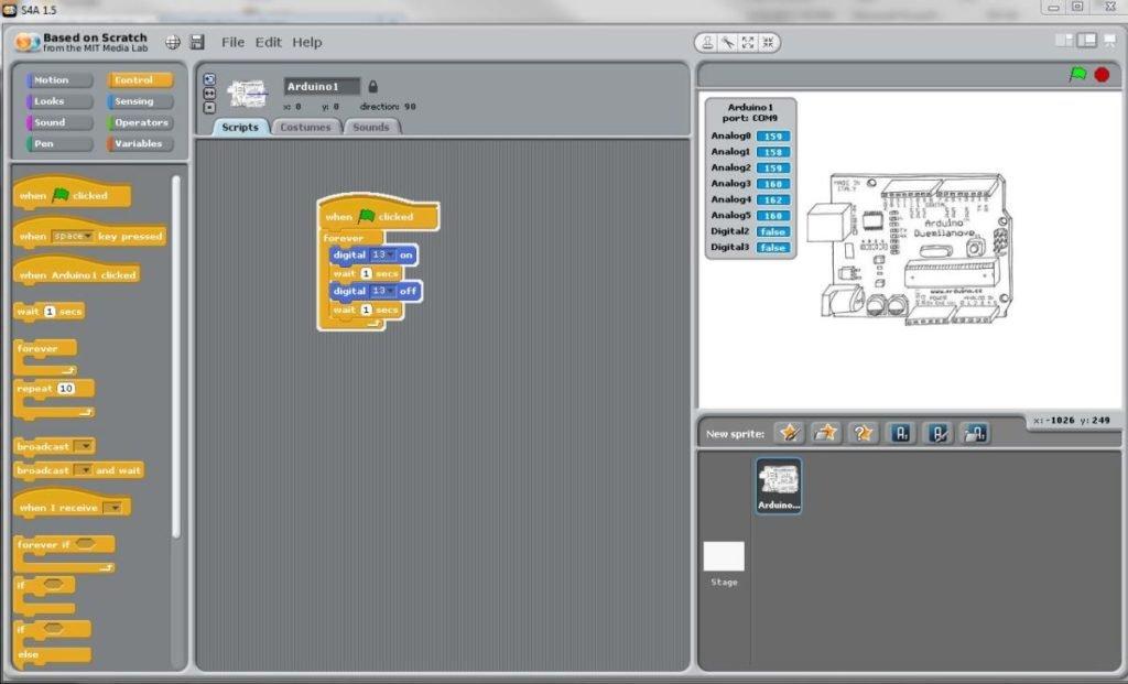 Arduino: ТОП-3 графических сред программирования