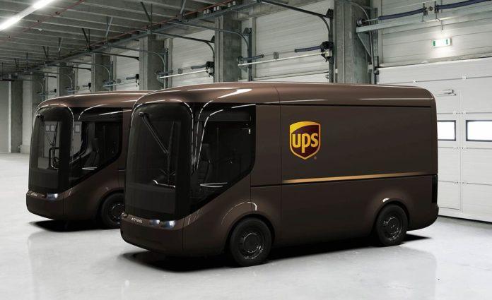 Компания UPS отправила в первые рейсы необычные электромобили