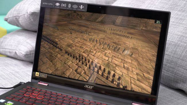 Тест и обзор трансформера Acer Nitro 5 Spin NP515-51-53DZ: король оснащения