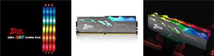 Kingmax представила геймерские модули памяти DDR4
