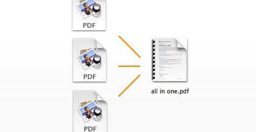 Mac OS: как объединить несколько PDF-файлов
