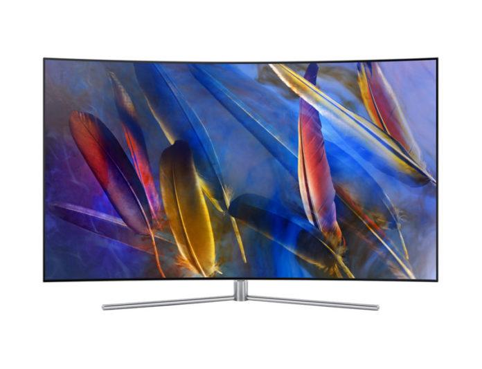 В Россию приехали новые QLED-телевизоры Samsung