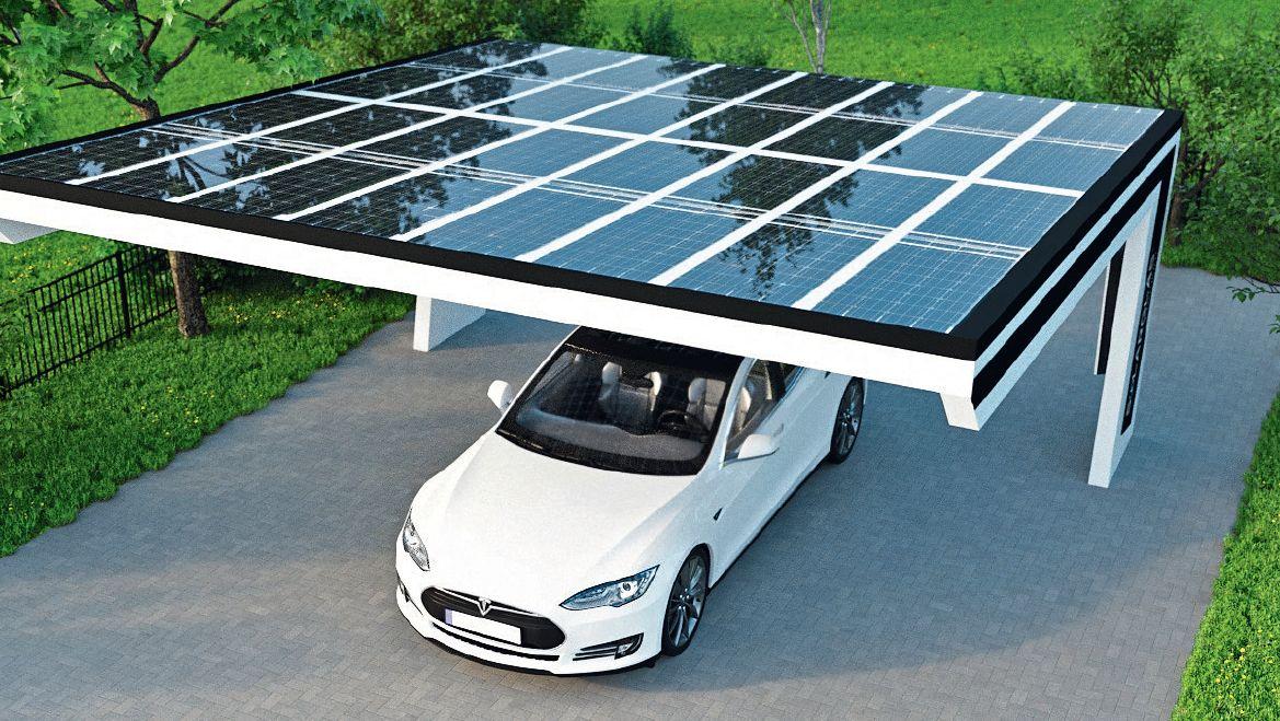 В солнечных регионах фотовольтаические установки себя оправдывают и отлично подходят для зарядки электромобилей