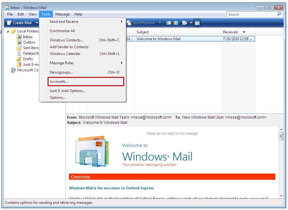 Windows: ТОП-5 клиентов электронной почты