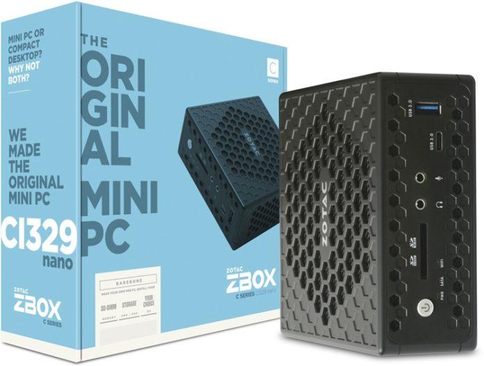 ZBOX представила бесшумный мини-ПК с процессором Intel Gemini Lake